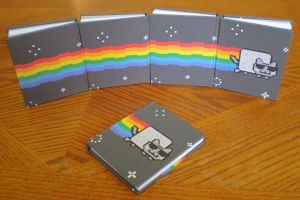 Smooth Jazz Nyan Cat Books by MyFebronia