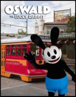 Oswald coming to Disney California by chaoticlatina