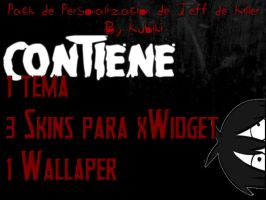 Pack Personalizacion Jeff De Killer By Kubiki by Kubiki