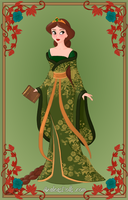 Queen Elinor by SingerofIceandFire