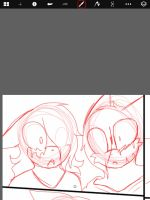 BAO AND MELONDY COMIC PREVIEW by TailsicaTFox