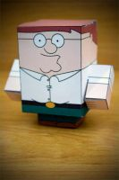 CubeCraft Peter Griffin by digital-uncool