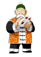 Grandpa Gohan -unmasked- by orco05