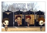 Doctor Who Valentine Sticker Cards by Kalisama