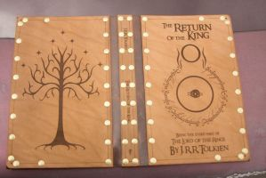 Leather cover for  Return of the King by Photoguy42