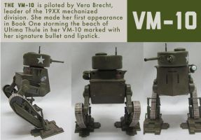 VM5 Mech multiple views by PaulRomanMartinez