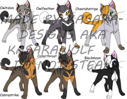 Warrior Cats-Warriors 1 GONE by Kasara-Designs