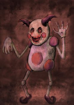 Mr Mime by LiamGray