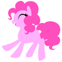 Minimal Pinkie Pie by CitrusSqueeze