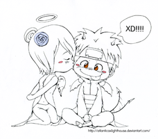 :Point Comm:  Konan x Yahiko by DavidPan