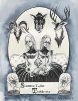 Victorian Alphabet: Siamese Twins and Taxidermy by Angel678