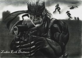 Solid Snake 3: The Last Outlaw by amorousdino