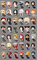 Naruto Icons - FREE TO USE! by isi-a