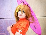 Love Live - Honoka [China dress] by Fuwamii
