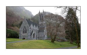 Gothic Church, Kylemore by PicTd