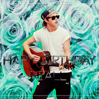 HBD Niall Horan Blend Light by CimFamSkrillete