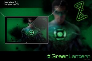 Green Lantern by FB11 Ft. BS03 by FunnyBear11