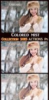 Colored mist ACTIONS Ps  by Tetelle-passion