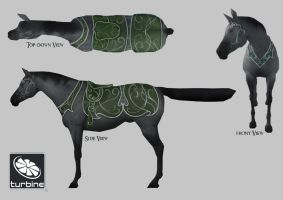 Lotro Mirkwood Mount by VirginiaVitamins
