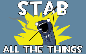 Stab All The Things by Rayfe