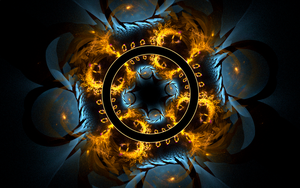 bluegolden creation with circle by Andrea1981G
