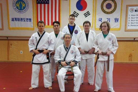 Brown belt test for hapkido  2 by kefkaRaiders