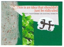 eating insects ATC by KatDiestel