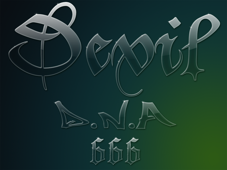 Glass Text Effect by skysee
