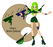 C: Silia's Winx Design by MaeWings