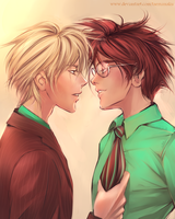 HP Next Generation: Scorpius and Albus Severus by taemanaku