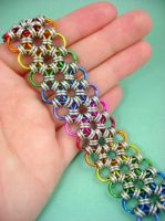 Rainbow Japanese Lace by monsterkookies