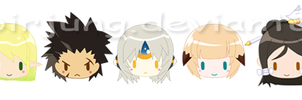 Mini Elsword Characters for... by noirjung