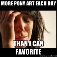 More Pony Art Each Day... by Aquarior