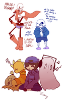 Stream Sketches #1 - Kazoo's + Hanging out   UT by PikaIsCool