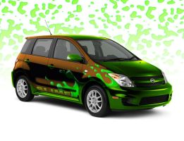 Scion Xa Slime by torchdesigns