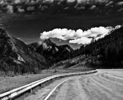 mountain road by malart