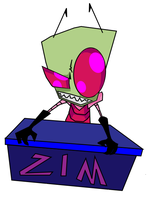 INVADER ZIM by Antooniverse