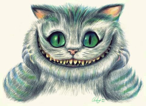 Cheshire Cat by Painted-rabbit