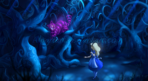 Alice In Wonderland by AlpariArt