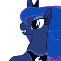 Luna by Zniddan