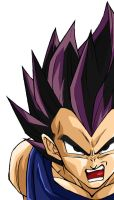 Ravencolors' vegeta by re-coil
