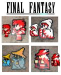 Perler beads for sale! - Final Fantasy sprites by haos-shaman-queen