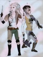 The Oyre Sisters by mandomemory