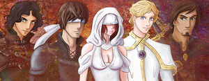 Seer - A Visual Novel - Characters by slyfoxxy