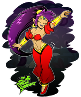 Shantae by OmegaSunBurst