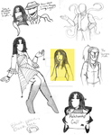 Mistress Doodles by MasterofMacabre