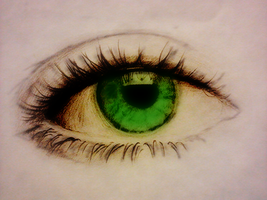 Lily's eye by TheHalfBloodPierrot