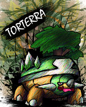 Torterra by sudro