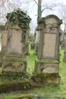 Jewish Cemetery Stock 25 by Malleni-Stock