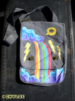 Rainbow Waterfall Messenger by Chylde